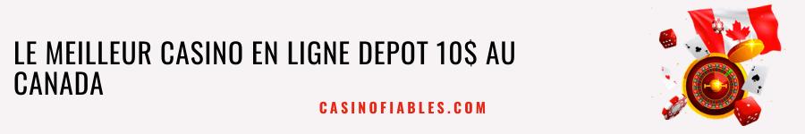 casino depot 10$