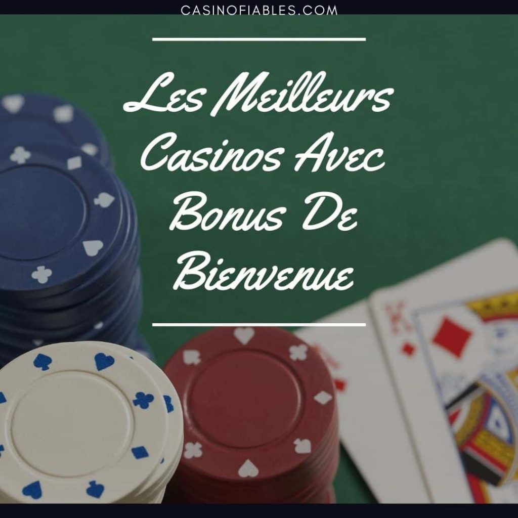 offre bienvenue casino