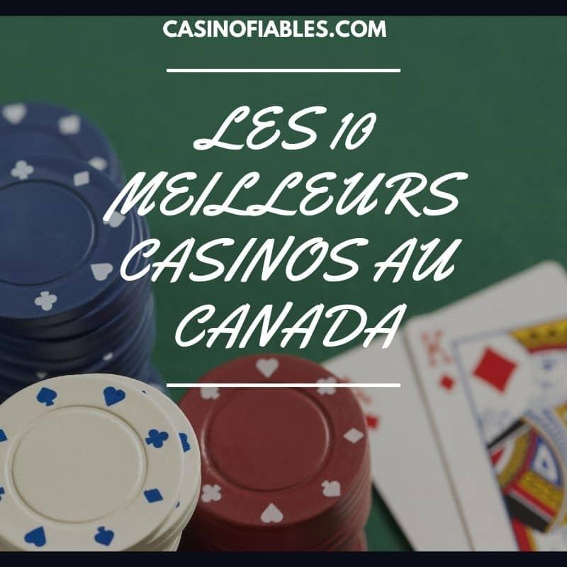 top 10 casinos en ligne au canada
