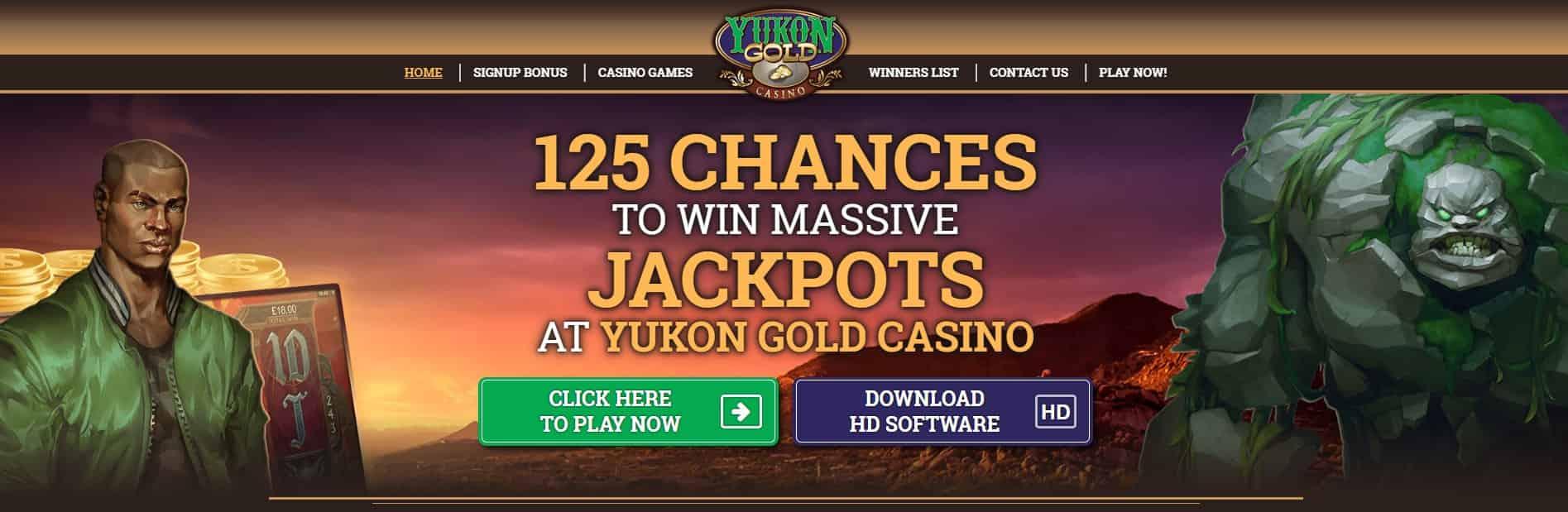 Casino Yukon Gold Français