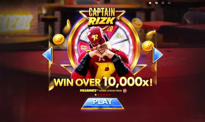 captain rizk megaways slot