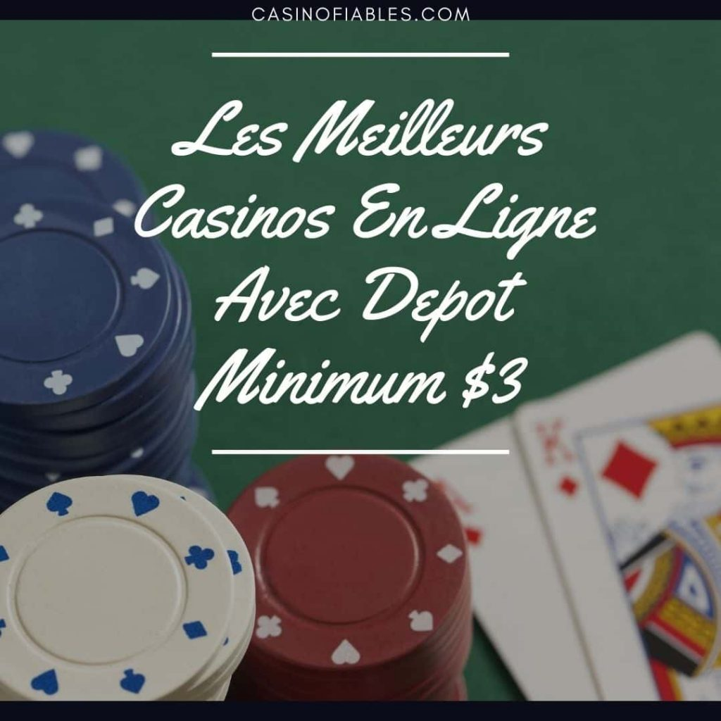 $3 depot casino en ligne